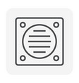 plumbing tool icon vector image vector image
