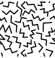 seamless pattern in memphis style 1 vector image vector image