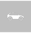 Car computer symbol vector image vector image