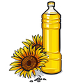 cooking oil vector image vector image