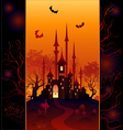 design for halloween vector image vector image