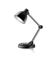 desk lamp isolated vector image vector image