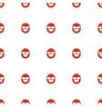 emot in sun glasses icon pattern seamless white vector image vector image