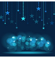Hanging Stars vector image vector image