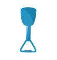 isolated beach shovel vector image