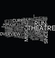 london s west end musicals text background word vector image vector image