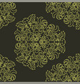 wallpaper in the style of baroque damask a vector image vector image