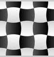 3d curve tile seamless pattern blackampwhite 001 vector image vector image