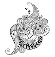 abstract decorative doodles vector image vector image