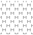 Barrier rope pattern simple style vector image