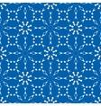 Christmas pattern Winter theme retro texture vector image vector image
