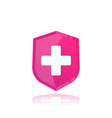 health insurance medical logo vector image