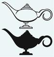Lamp Aladdin vector image vector image