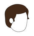 man head vector image vector image
