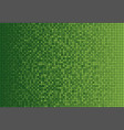 the banner green sequins glitter sparkle back vector image vector image