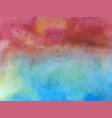 watercolor texture blot vector image vector image