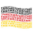 waving germany flag collage of fake words vector image vector image