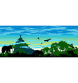 Wild jungle animals in Brazil vector image vector image