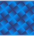 3d curve tile seamless pattern blue 003 vector image vector image
