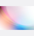 abstract curved with soft colors background vector image vector image