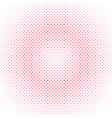 abstract halftone circle pattern background vector image vector image