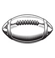 american football design on white background vector image