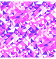 colorful abstract seamless triangle tile pattern vector image vector image