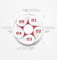 Design circle vector image vector image