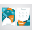 geometric design business banners vector image