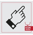 hand icon pointer vector image vector image