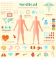 Healthcare and Medical Infographics vector image vector image