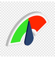 index of reviews isometric icon vector image vector image