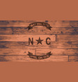 north carolina flag brand vector image vector image