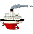 steamer vector image