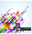 abstract colored gradient vector image vector image