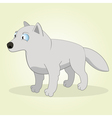 Arctic wolf vector image vector image