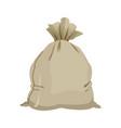 cartoon bag money banking safe icon vector image