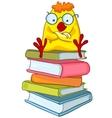 cartoon character chicken vector image vector image