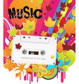 Cassette Design vector image vector image
