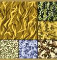 creative universal hand drawn seamless pattern vector image vector image