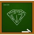 diamond icon Eps10 vector image