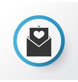 envelope icon symbol premium quality isolated vector image vector image