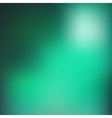 Green blur background vector image vector image