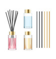 realistic detailed 3d aromatherapy set concept vector image vector image