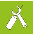 repair service design vector image vector image