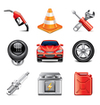 set car vector image vector image