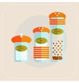 Spices icon flat vector image