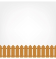 Wooden fence seamless pattern for your design vector image vector image