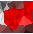 Abstract flat geometric background vector image