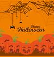 background happy halloween vector image vector image